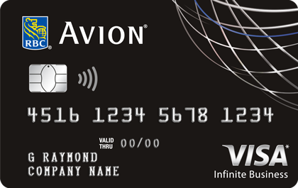 RBC<sup>®</sup> AVION<sup>®</sup> VISA INFINITE BUSINESS CARD