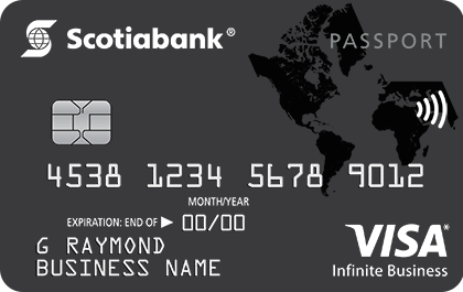 Scotiabank Passport<sup>TM</sup> Visa Infinite Business Card