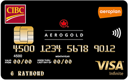 CIBC® AEROPLAN® GOLD VISA INFINITE™ CARD