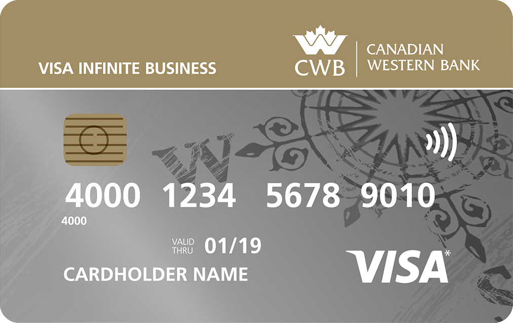 CWB Visa Infinite Business Card