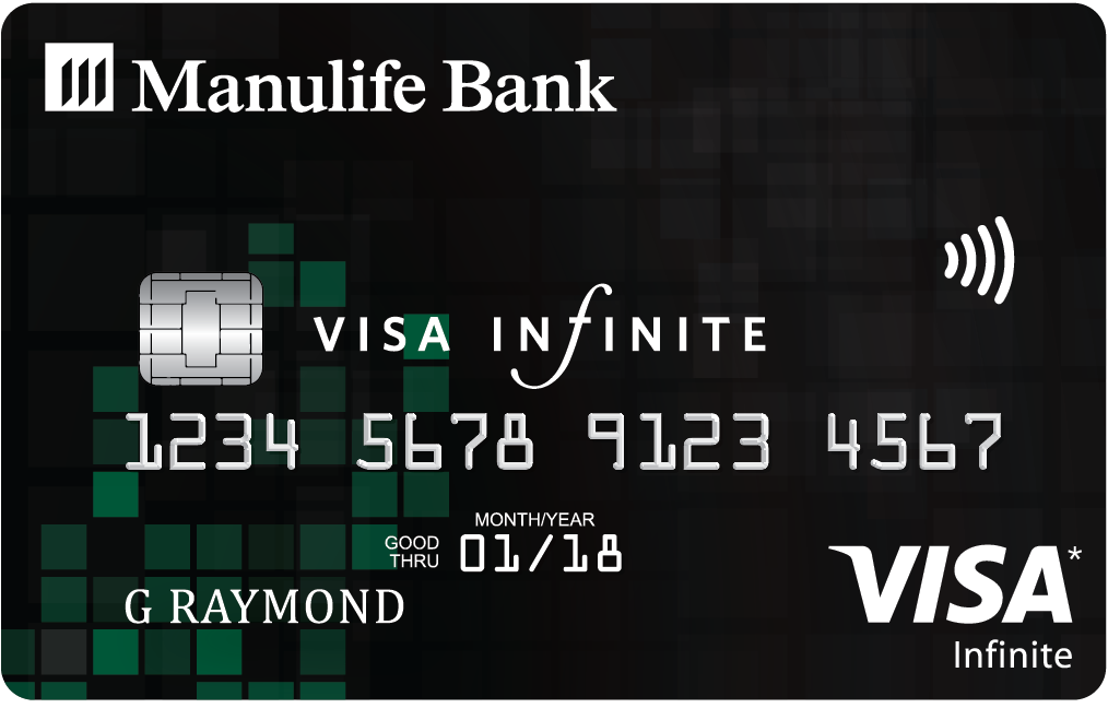 ManulifeMONEY+<sup>TM</sup> Visa Infinite* Card