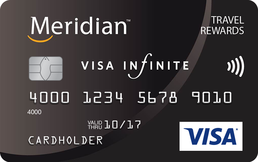 Meridian Visa Infinite Travel Rewards Card