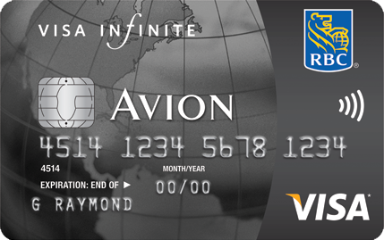 RBC Avion Visa Infinite Card