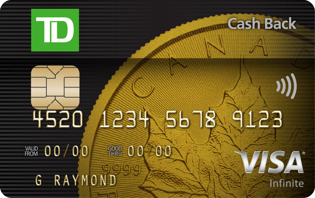 TD Cash Back Visa Infinite* Card