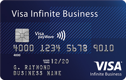 Rewards Visa Infinite Business Card (offered by your credit union)
